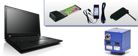 FireWire Axiocam Laptop Solution