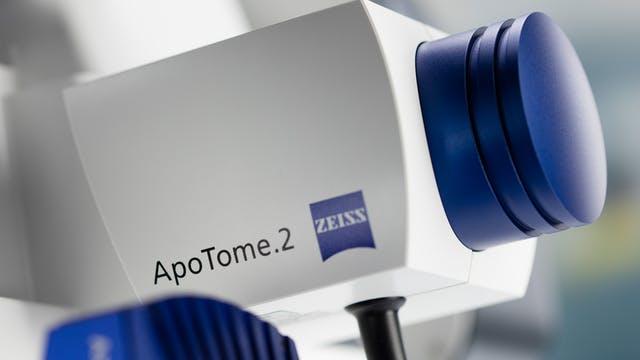 zeiss axio observer - apotome