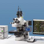 Spectroscopy / Spectromètre with research microscope